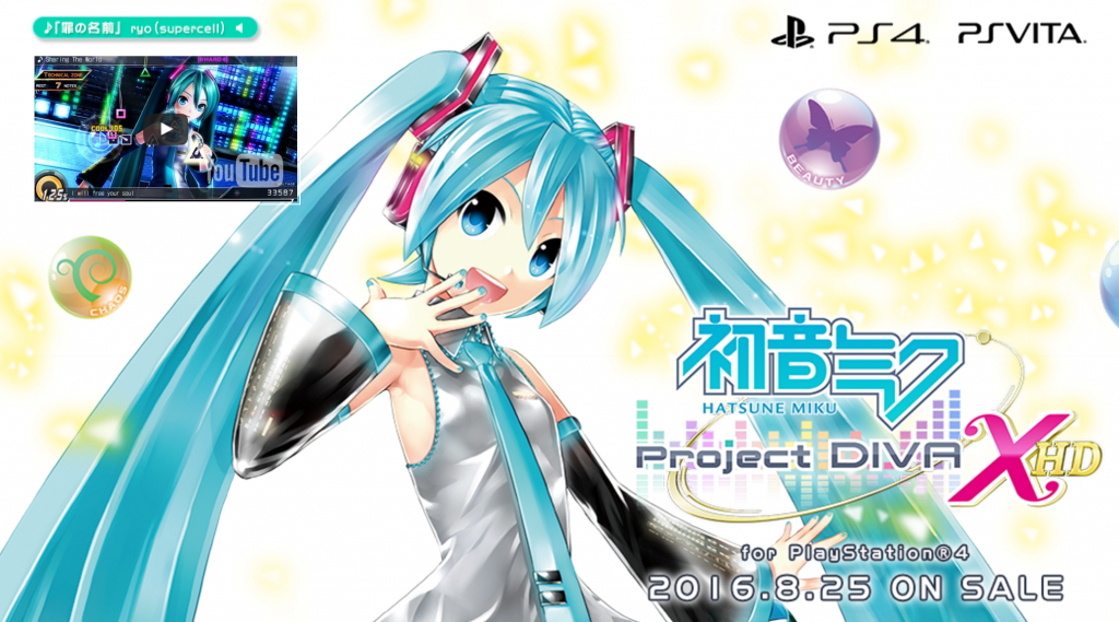 初音ミク -Project DIVA- X HD