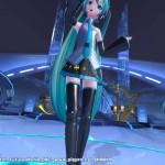 PSVRでPS4版「初音ミク -Project DIVA- X HD」をプレイ。