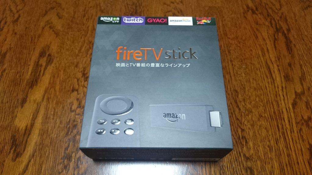 fireTV stick_感想とレビュー