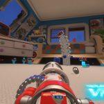 """『THE PLAYROOM VR』の追加コンテンツ「トイウォーズ」をプレイ。シンプルなんだけど、VRならではの""""迫ってくる感""""がたまらない"""