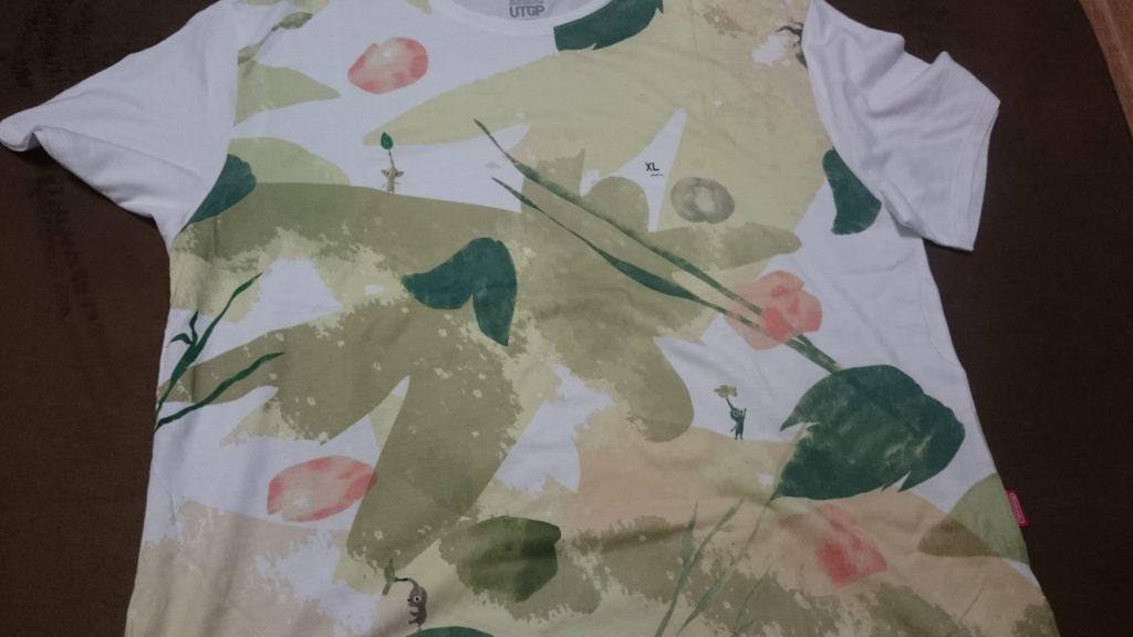 ユニクロ_任天堂コラボTシャツ
