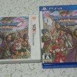 『ドラクエ11』はPS4版と3DS版を購入。とりあえずPS4版からプレイ開始。